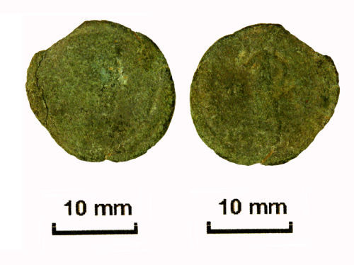 NLM-49C6D4: Roman Coin: Nummus of House of Valentinian