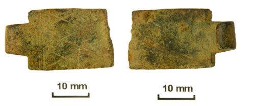 NLM-C50231: Post medieval book clasp