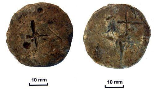NLM-DE12C3: Post Medieval Lead Weight