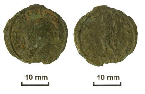 NLM-E4E133: A Roman nummus of Licinius I