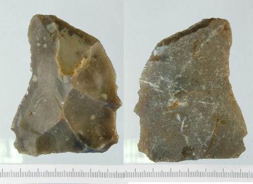 NLM-B076E3: Neolithic to Bronze Age Scraper