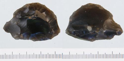 NLM-84AD57: Neolithic Horseshoe Scraper