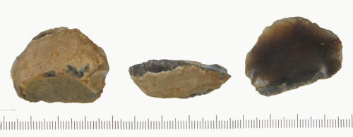 NLM-737ED1: Neolithic Side and End Scraper