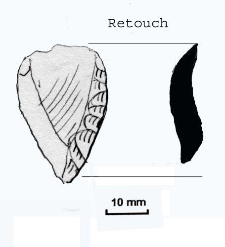 NLM-F867E6: Mesolithic to Neolithic Scraper