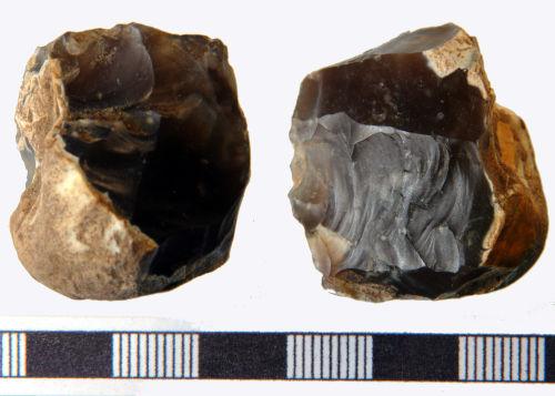 NLM-E5B4E5: Late Mesolithic to Early Bronze Age Core