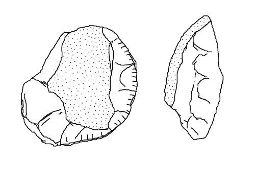 NLM-AF0341: Neolithic to Early Bronze Age Scraper