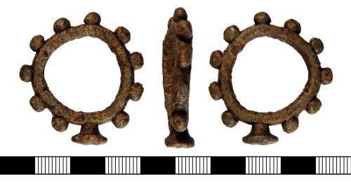 NLM-1CD468: Post Medieval Decade Ring