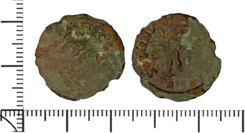 DOR-76F3AB: Roman coin: nummus of the House of Constantine