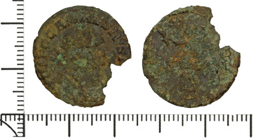 DOR-77510C: Roman coin: radiate of Carausius
