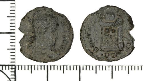 DOR-B971AB: Copper alloy nummus of Constantine I