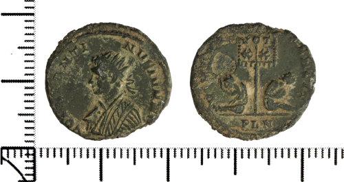 DOR-0F94C7: Roman coin: nummus of Constantine II