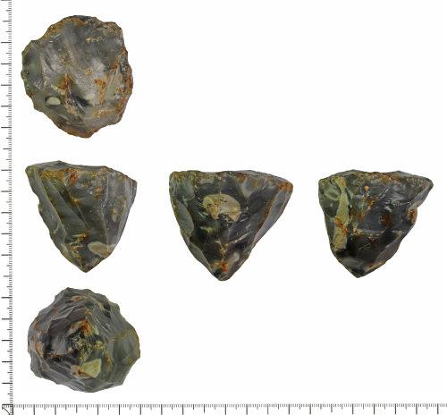 DOR-216AE4: Mesolithic core.