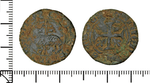 DOR-601B54: Medieval French Jetton