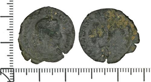DOR-78A783: Roman coin: Nummus of Constantine I.