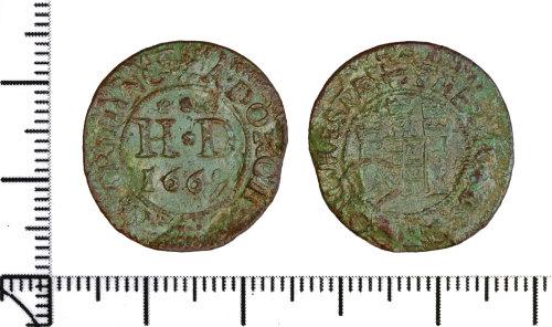 DOR-7DC057: Post Medieval token
