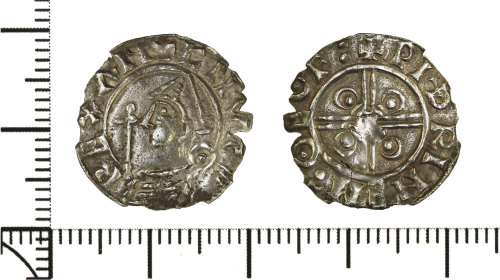 DOR-91C9BD: Early Medieval penny of Cnut the Great.