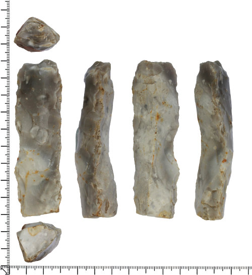 DOR-93D6BE: Late Neolithic to early Bronze Age chisel.