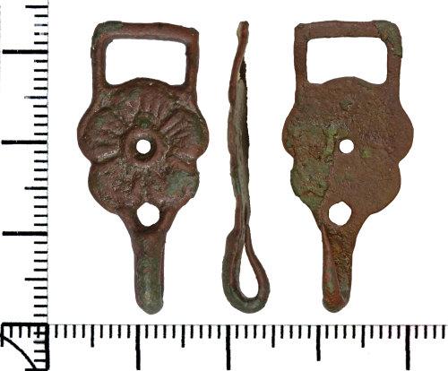 DOR-A65E08: Post Medieval dress hook fastener