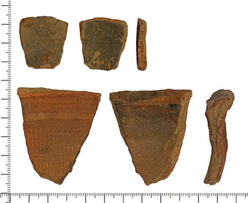 DOR-CBEE86: Roman sherds of Oxfordshire colour coated ware