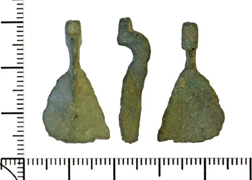 DOR-D665B8: Copper alloy spoon.