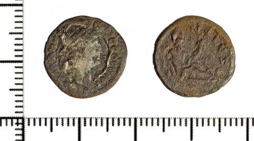 DOR-E101C9: Roman coin: Denarius of Hadrian