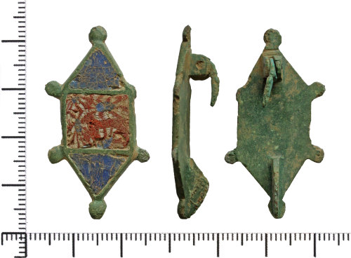 DOR-EB6D26: Roman plate brooch.