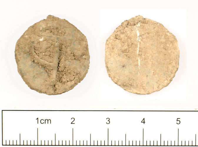 SUSS-26F3D1: Medieval to post-medieval : Lead token