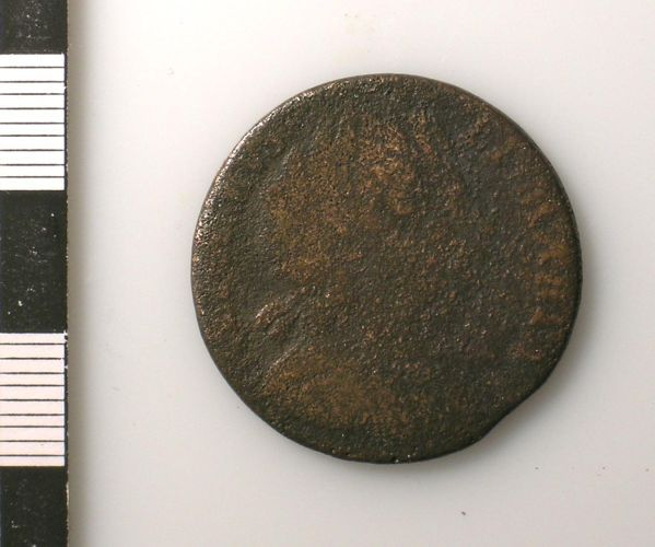 SUSS-5CFF47: Post-medieval : Coin (obverse)