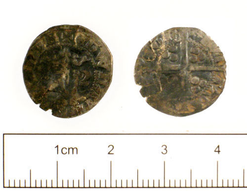 SUSS-FFF8C4: Medieval coin : Penny of Edward I