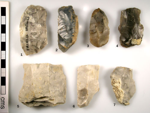 SUSS-D7DC15: Mesolithic : Lithic implements