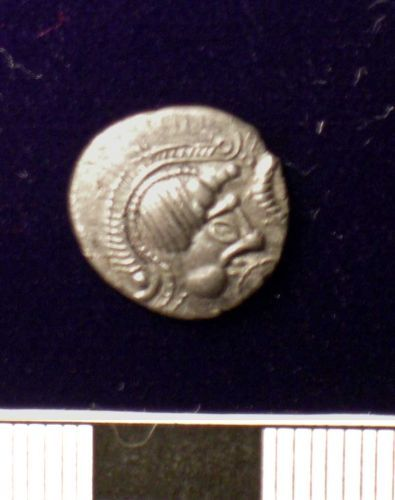 SUSS-49E923: Early Atrebatic Type 50-45BC uninscribed silver unit