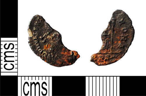 LANCUM-0F541E: Silver House of Valentinian siliqua