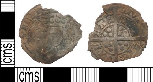 LANCUM-1F677E: Silver hammered groat Henry VI