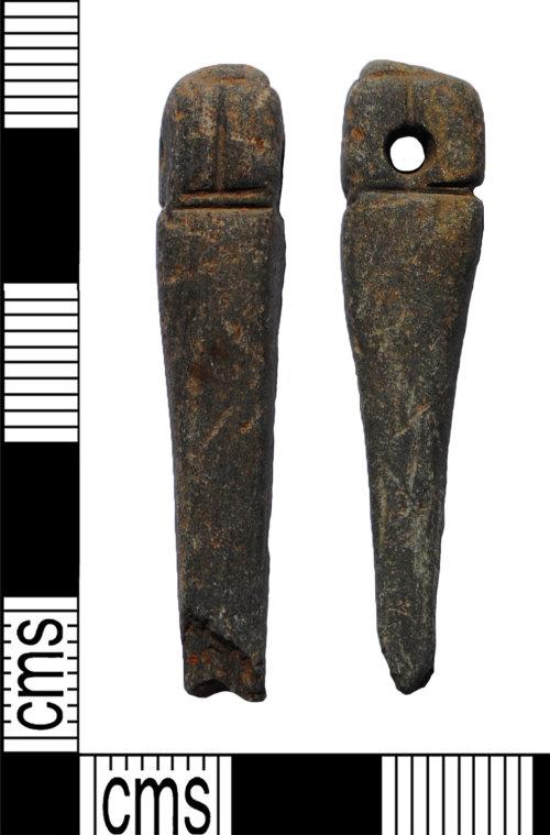 LANCUM-421FE3: Whetstone pendant