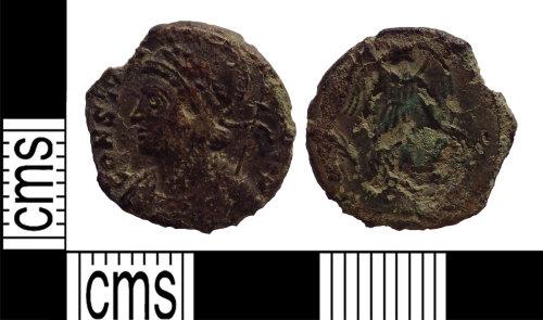 LANCUM-4DE6D9: House of Constantine nummus