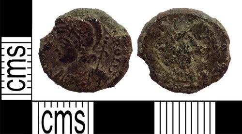 LANCUM-4E3472: House of Constantine nummus