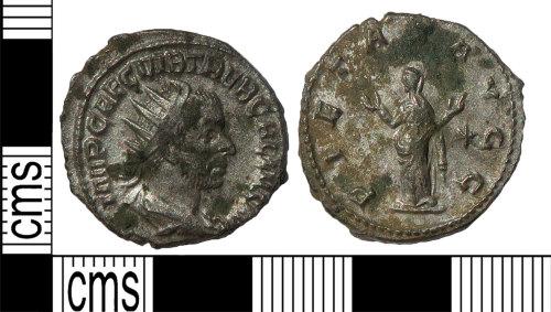LANCUM-BA7A9E: Radiate Trebianus Gallus