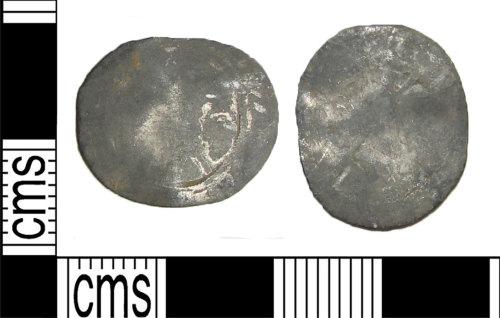 LANCUM-CD252C: Silver Elizabeth I threepence