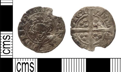LANCUM-D8E2AC: Silver penny of Edward I/II