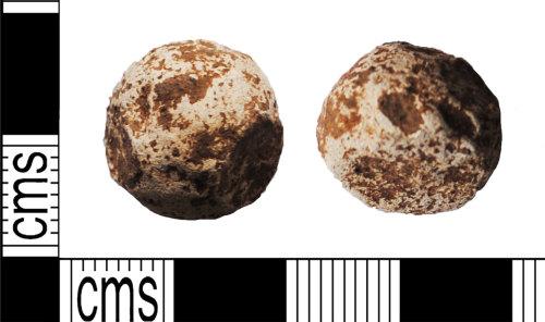 LANCUM-D93F31: Lead musket ball