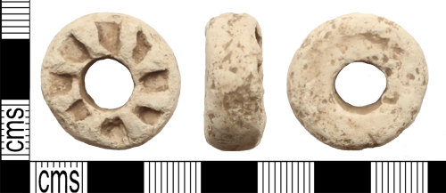 LANCUM-DD5E25: Lead spindle whorl or gaming piece