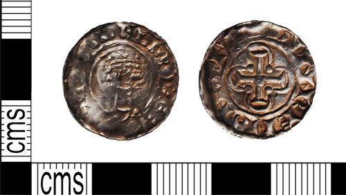 LANCUM-F32E17: Silver hammered penny William II