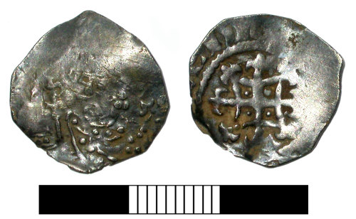 SUR-E82D03: Medieval coin: Penny of Henry I