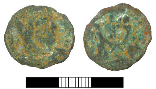 SUR-37CD91: Roman coin: Nummus of Licinius II