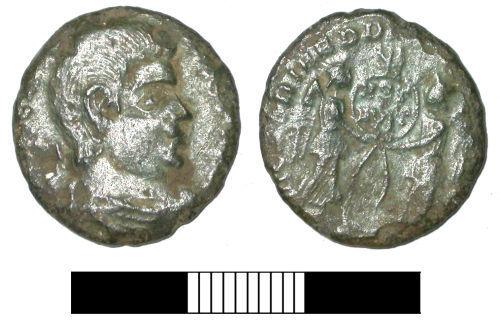 SUR-862236: Roman coin: Nummus of Magnentius