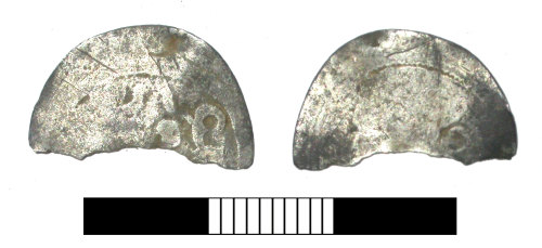 SUR-EC15D7: Medieval coin: Possibly Spanish