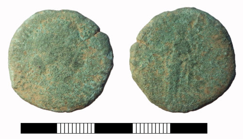 SUR-237352: Roman coin: Dupondius probably of Faustina II under Marcus Aurelius