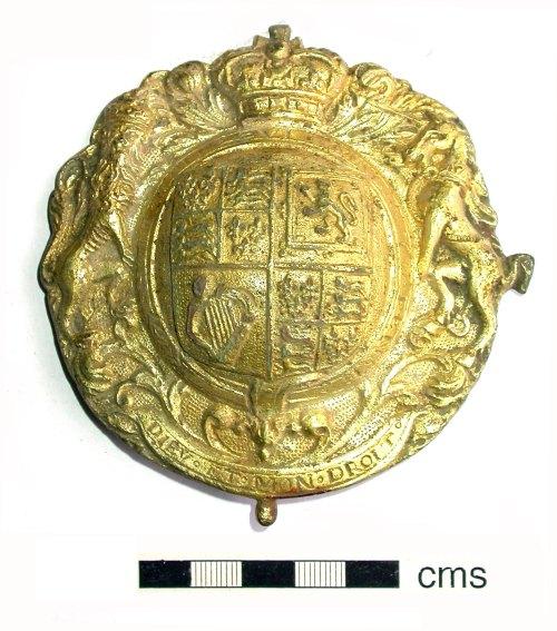 SUR-23EF78: Post medieval: Royal harness decoration
