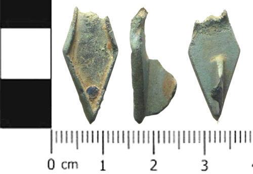 SWYOR-F58071: Roman Skeumorphic Plate Brooch