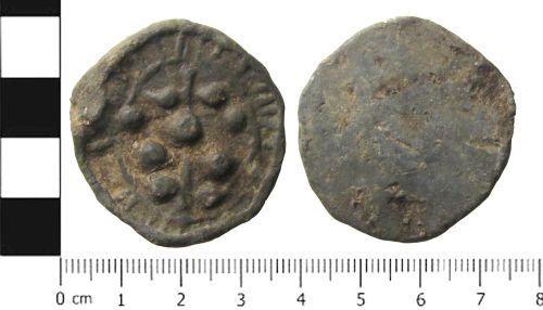 SWYOR-AA9243: Medieval or Post Medieval Token